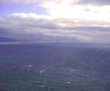 Looking from Cape Lookout south towards Cape Kiwanda