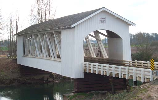 Gilkey Covered Bridge, Scio, Oregon