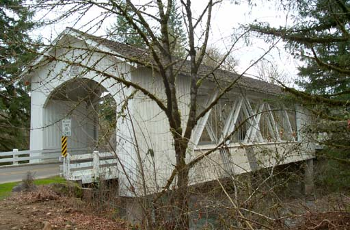 Hannah Covered Bridge, Scio, Oregon