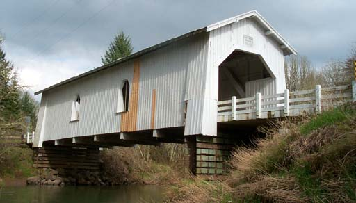 Huffman Covered Bridge, Scio, Oregon