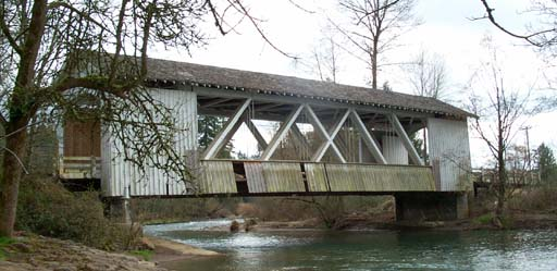 Larwood Covered Bridge, Scio, Oregon