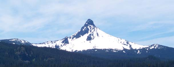 Mount Washington, Oregon in late May